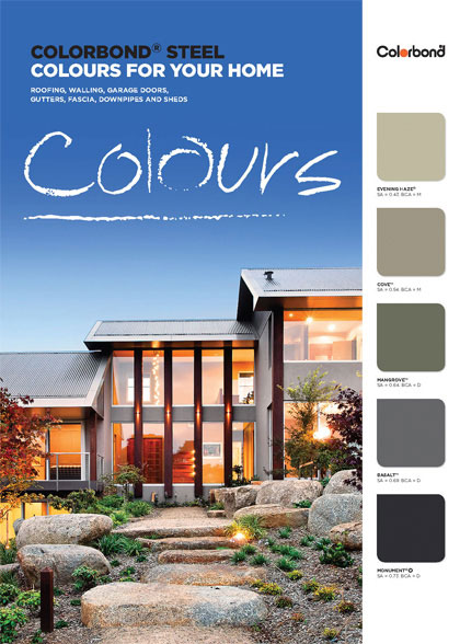 Brochures Swatches Guides Colorbond Steel