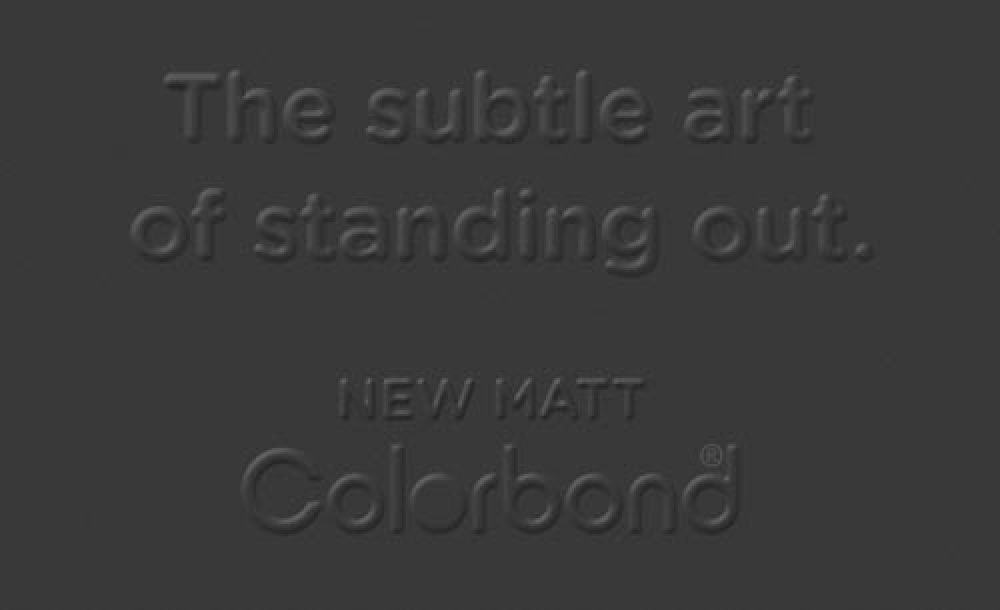 COLORBOND® steel Matt
